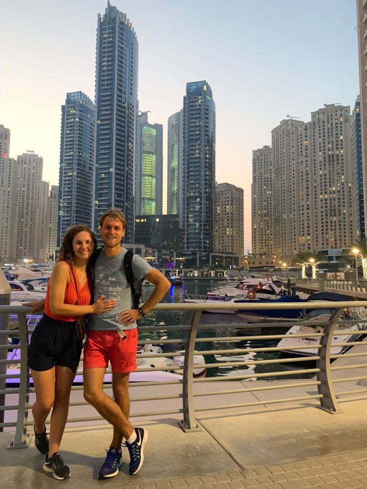 KATrippin Dubai Marina