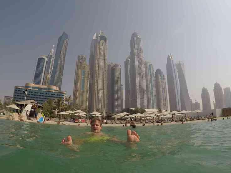 KATrippin Dubai Barasti Beach