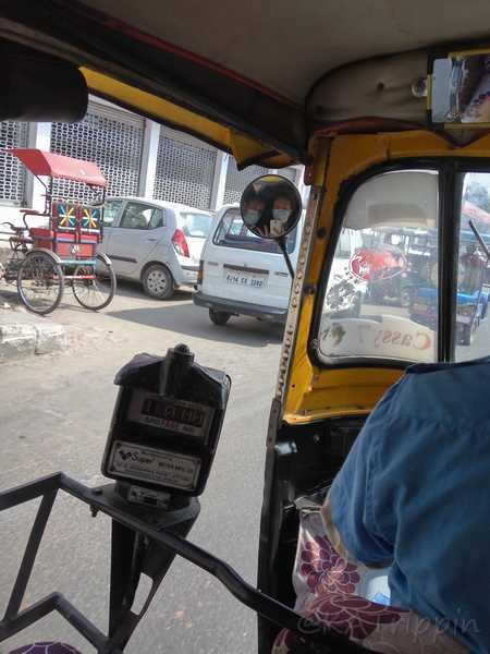 Budget Travel India Tuk Tuk