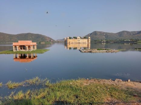 Water Palace, Jaipur - Photo by Andrius - October 2018