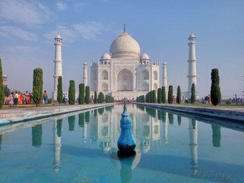 Taj Mahal, Agra - Photo by Andrius - October 2018