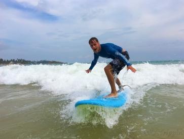 Surfing in Mirissa - Photo by Kristina - October 2018