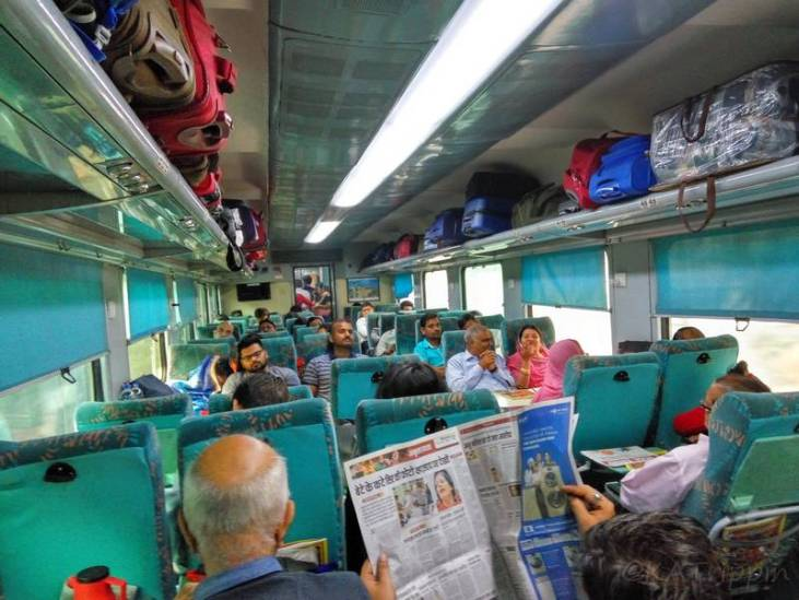 Travelling Comfortably in Chair Car Class