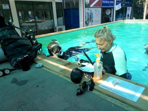 Diving Course in Thailand
